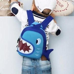 Kids Small Shark Backpack - new with tags